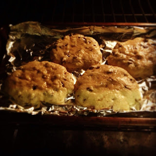 freshly baked cookies