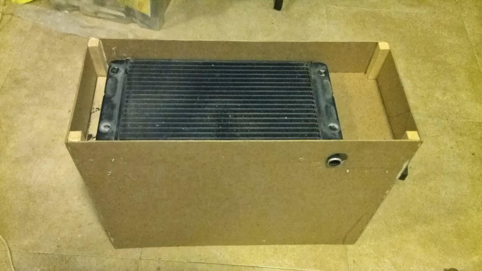 Aicanduit calefacci n solar de bajo coste construyendo - Radiadores de aire ...