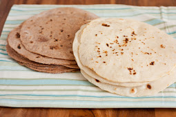 Homemade Tortillas - White and Whole Wheat Recipes