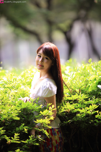 6 Kim Ji Min - Smile Like a Flowers-very cute asian girl-girlcute4u.blogspot.com