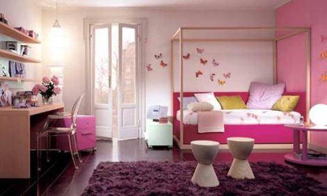 10 Pink Bedroom Design Ideas for Girls