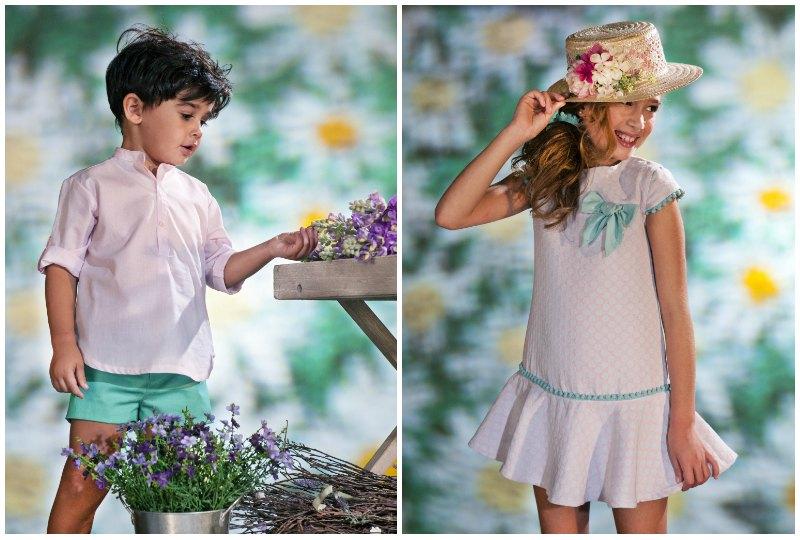 coleccion flores niño y niña