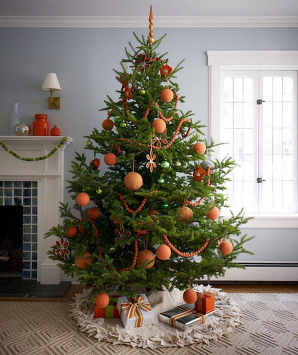 Как украсить елку в 2018 году своими руками 5