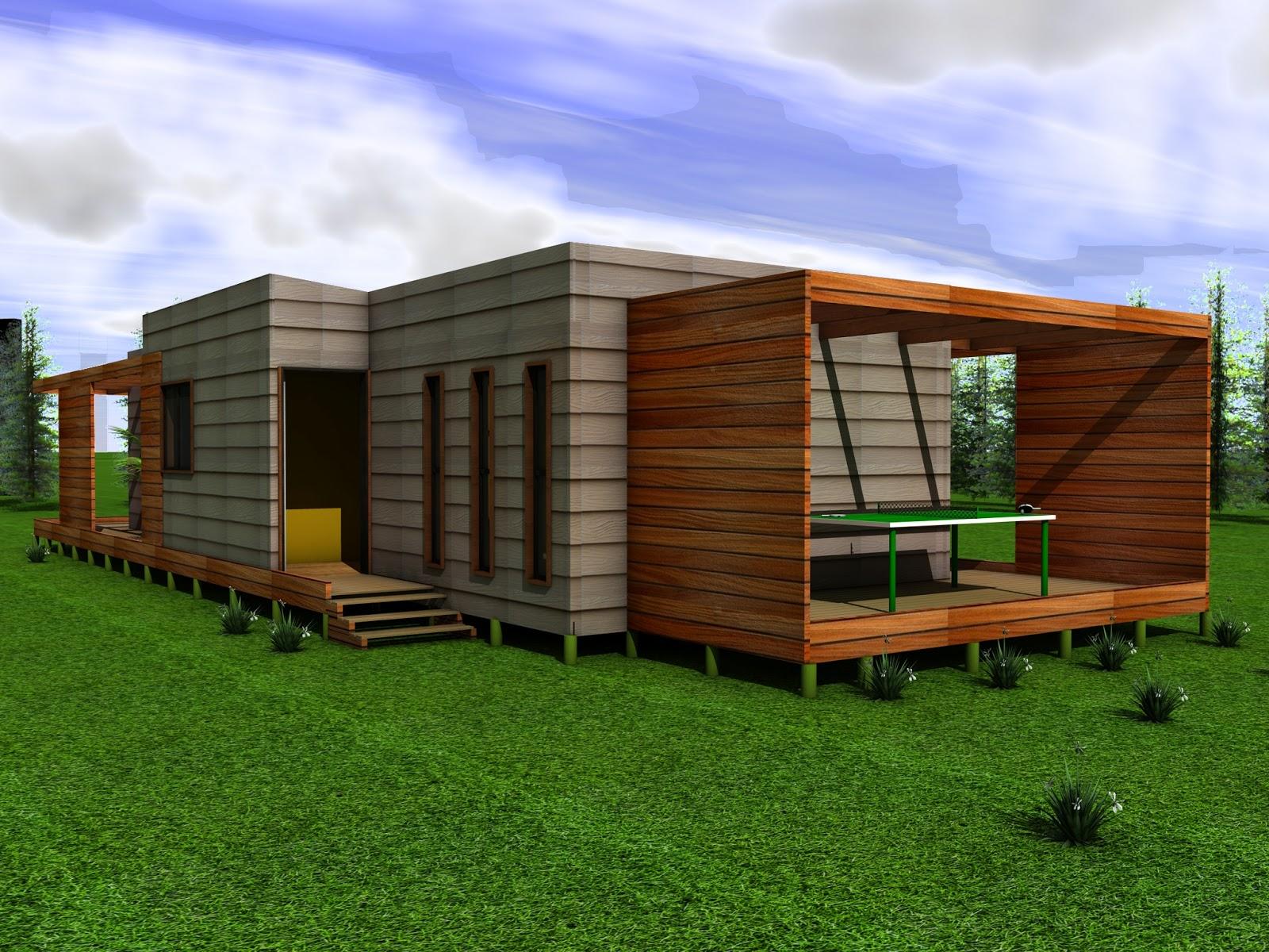 Casa mediterranea con planos - Casas prefabricadas mediterraneas ...