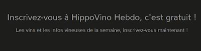 Inscrivez-vous à HippoVino Hebdo maintenant !