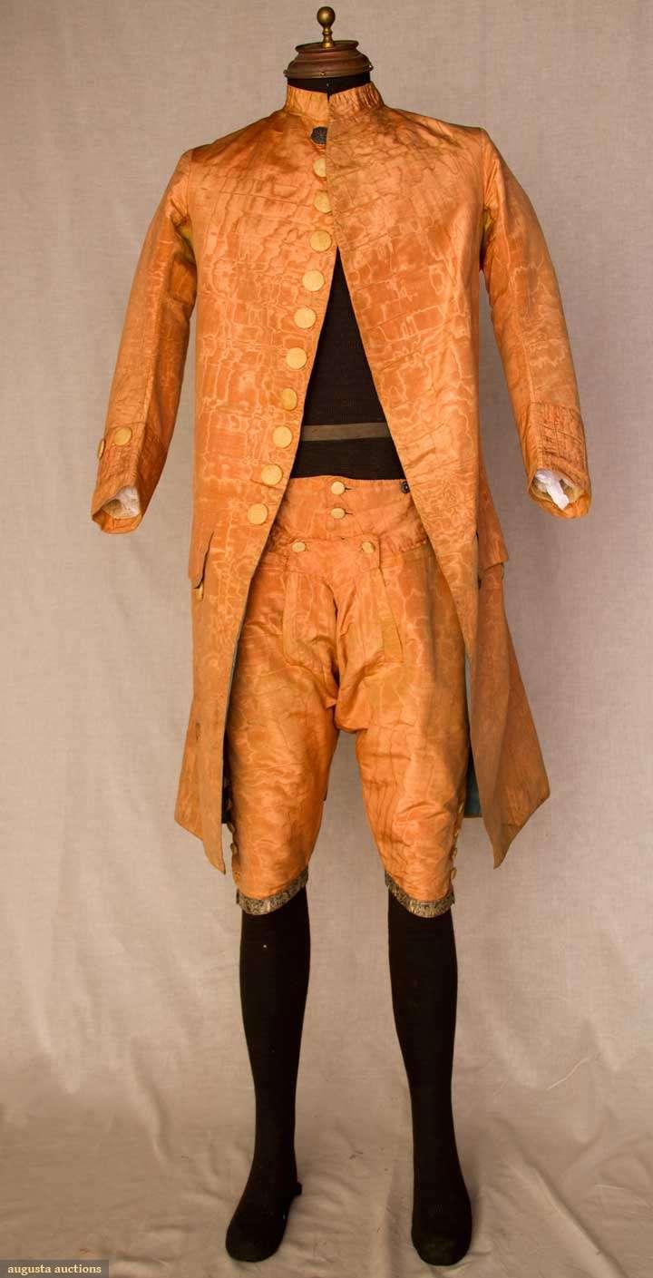 Мужская Одежда 18 Века