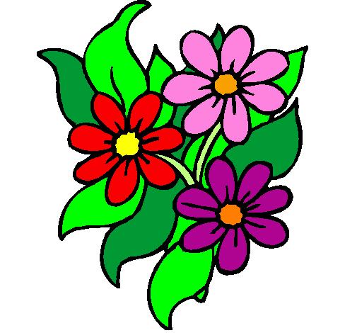 Galeria de Fotos de Flores Flores e Flores - Fotos De Flores Coloridas Para Imprimir