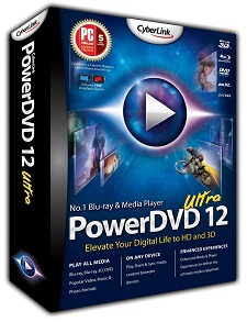 CyberLink PowerDVD 12.0.1618.54 Ultra + Crack