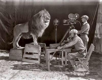 Foto intro leon de MGM 1928