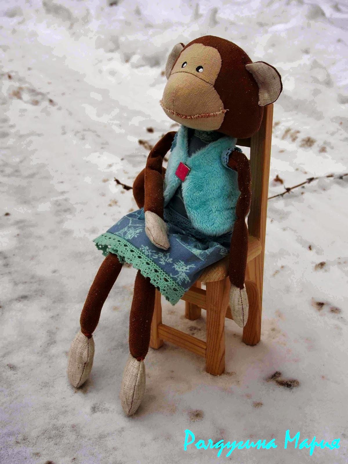 обезьянка на заказ