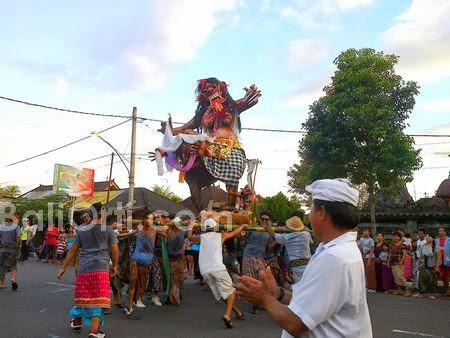 Ogoh-ogoh in Bali