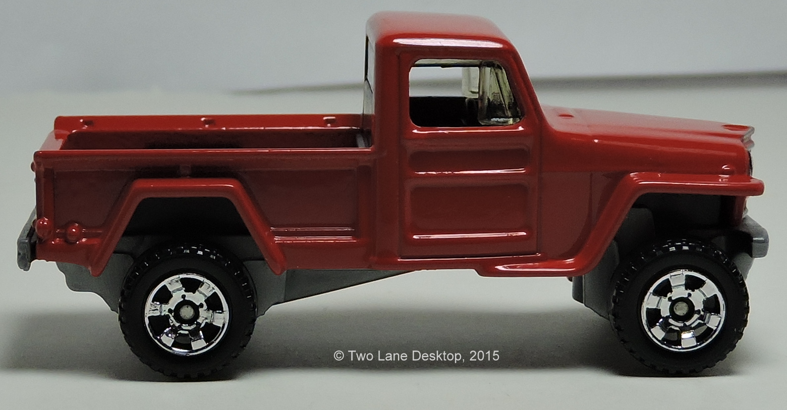 Image 11 Of 50 Jeep Heritage 1950 Willys Pickup Truck The Two Lane Desktop Matchbox 4x4