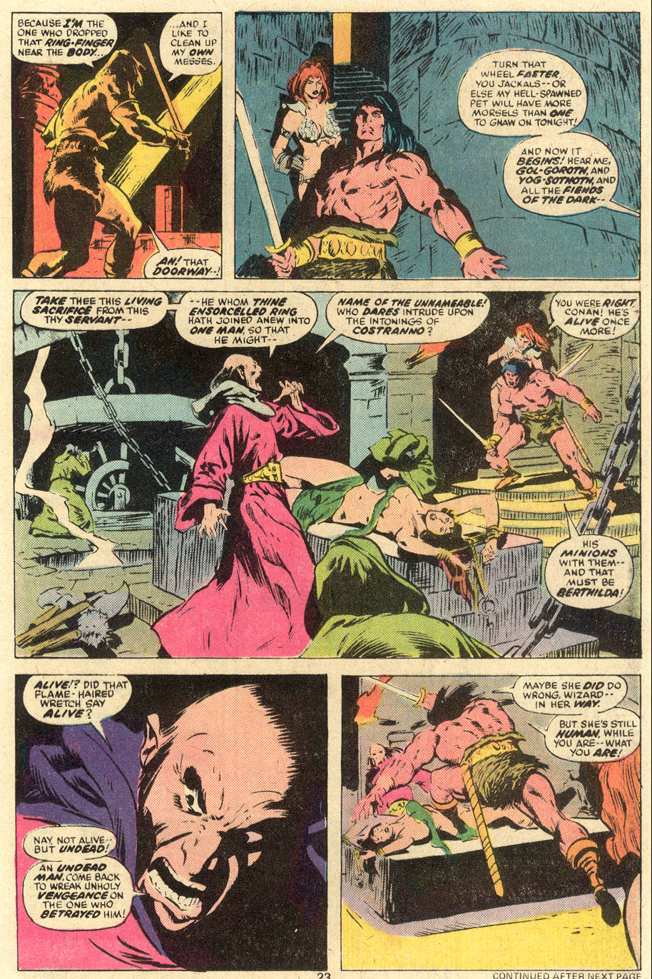 Conan the Barbarian (1970) Issue #78 #90 - English 14