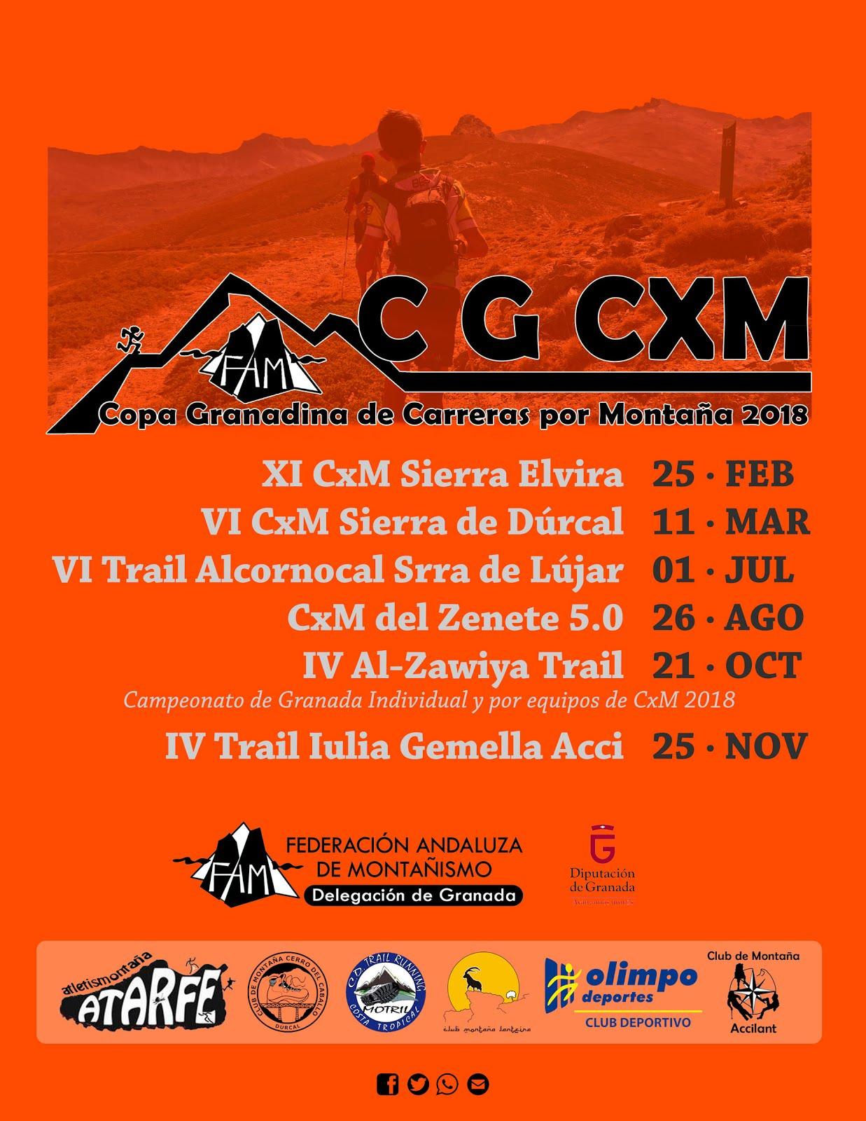 Copa Granadina de CxM 2018