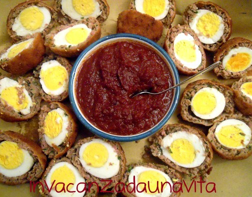 capodanno 2013: scotch eggs
