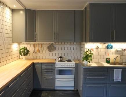 Bodbyn grå veggfarge
