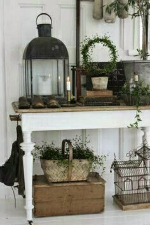 una pizca de hogar decorar con faroles