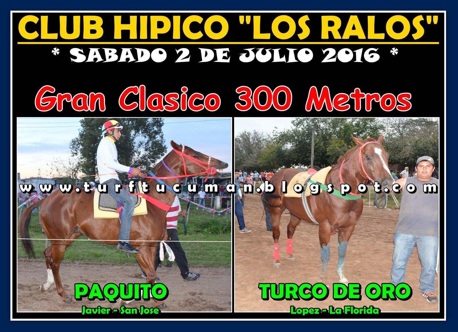 PAQUITO VS TURCO DE ORO