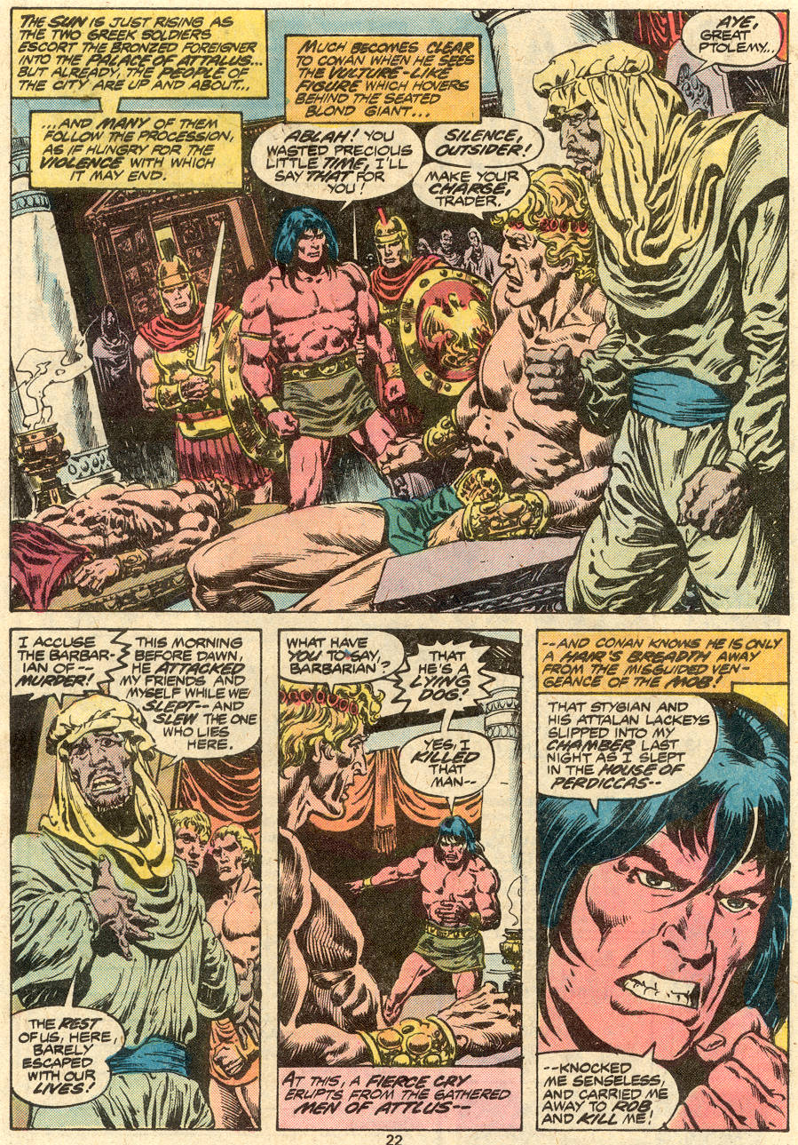 Conan the Barbarian (1970) Issue #80 #92 - English 13