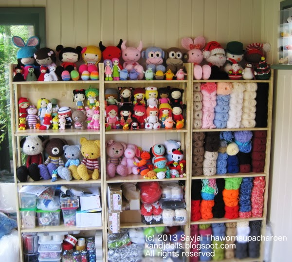 Amigurumi Doll House : All my amigurumi dolls - Sayjai Amigurumi Crochet Patterns ...