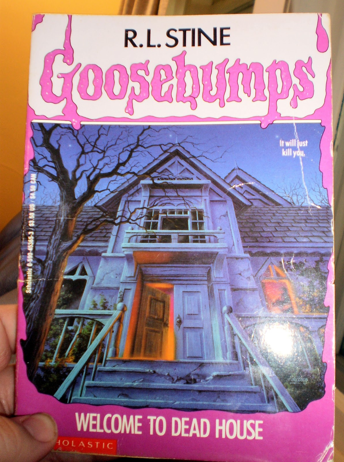 Goosebumps Reliving The Terror Of Youth 1 Welcome To