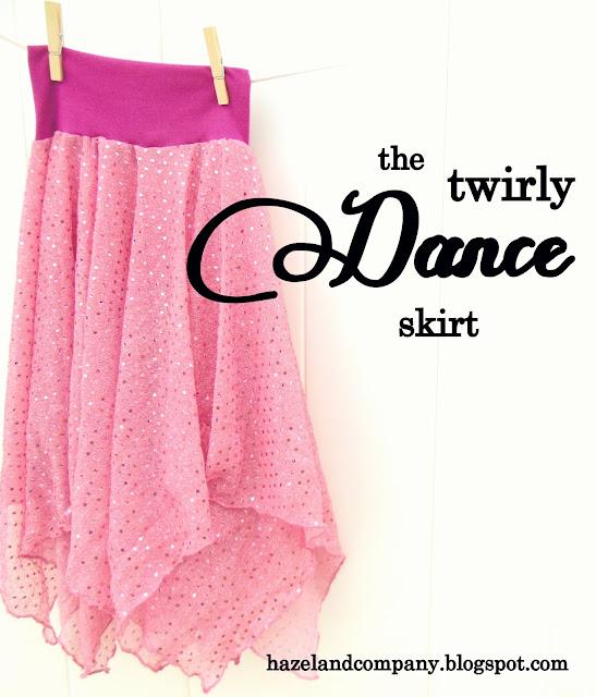 Hazel And Company Twirly Dance Skirt Tutorial
