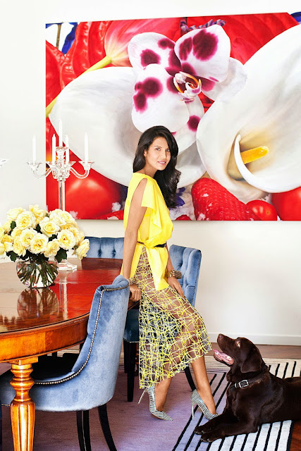 Decor Inspiration - At home with : When Goga Ashkenazi, Milan - Cool Chic Style Fashion