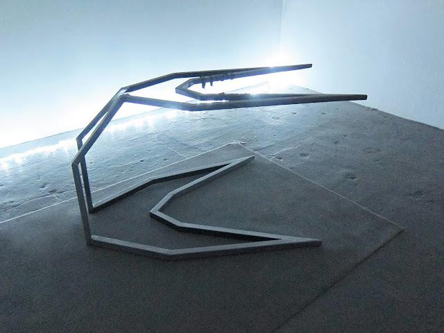 Konrad Wyrebek Metal sculpture  YYBKS 80 x 120 x 200 cm