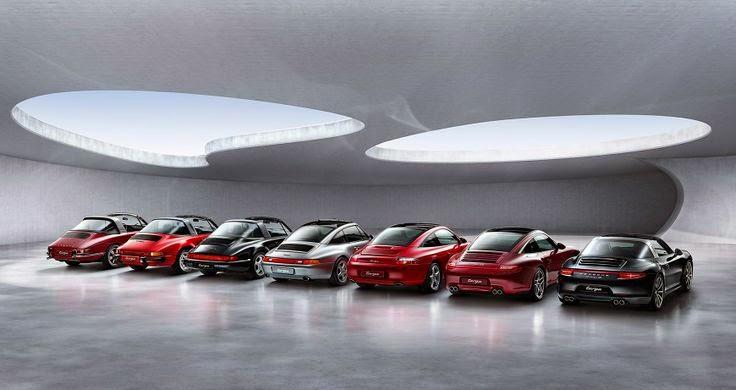Porsche Targa - Evolution 1966-2014