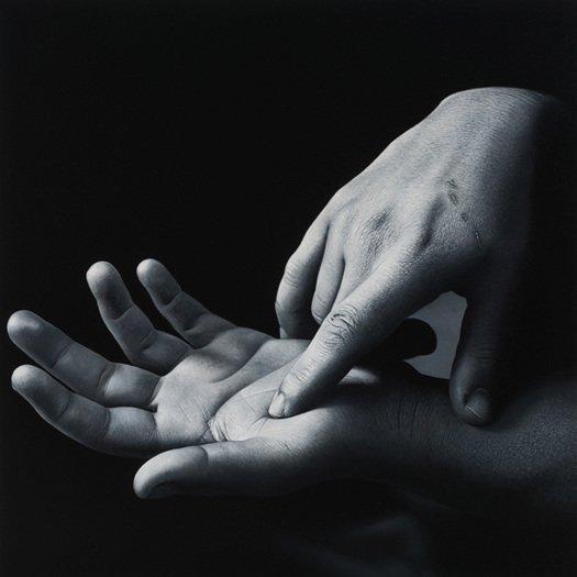 Charles Bierk pinturas hiper-realistas retratos preto e branco