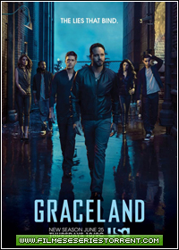 Graceland 3ª Temporada Torrent Legendado (2015)