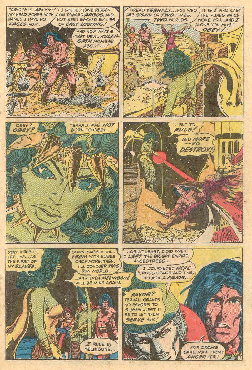 Conan the Barbarian (1970) Issue #15 #27 - English 12