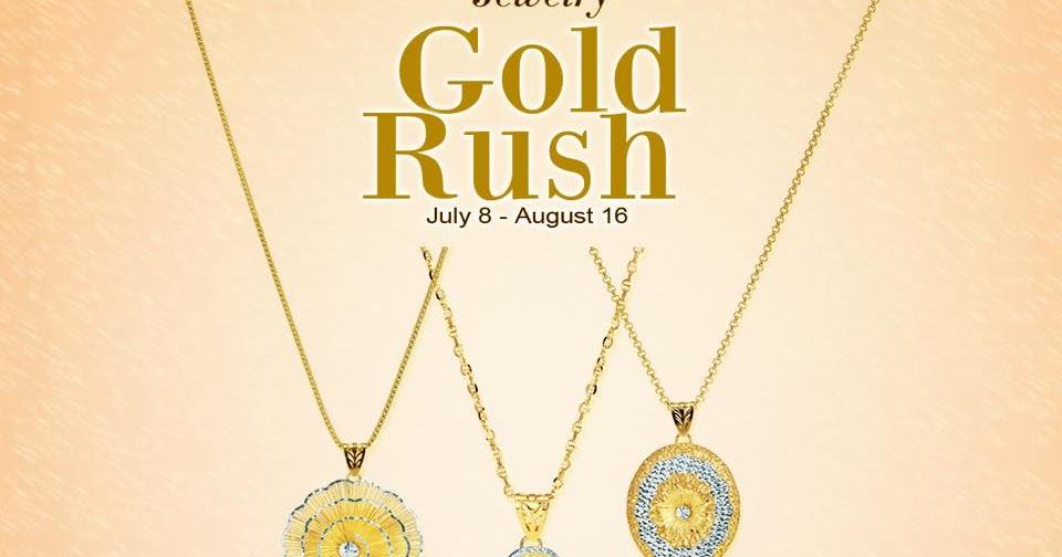 Manila Shopper Metro Stores Gold Rush SALE JulyAug 2015