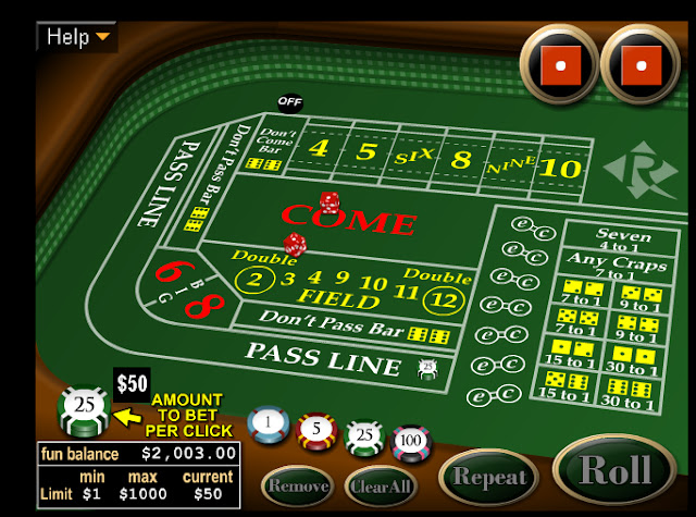 casino craps online lord od