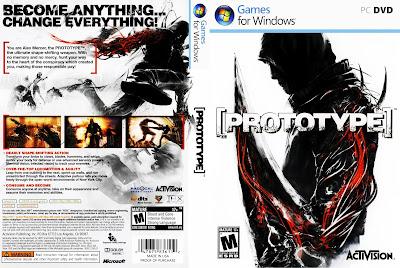 Prototype PC DVD Capa