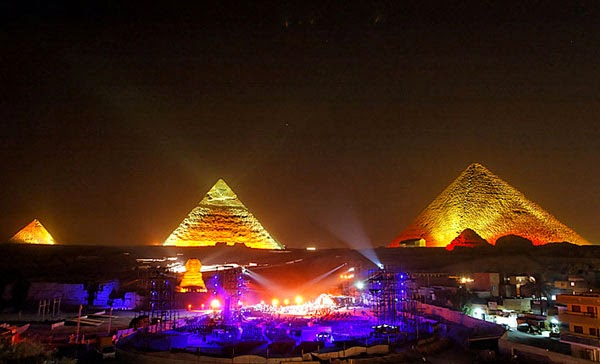 Cairo at night (Egypt)