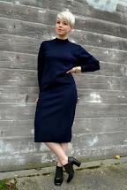 Of Day Wool Sweater Dress & Booties Fleur
