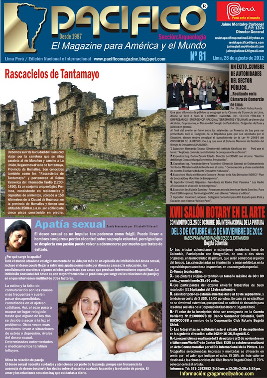 Revista Pacífico Nº 81 Arqueología