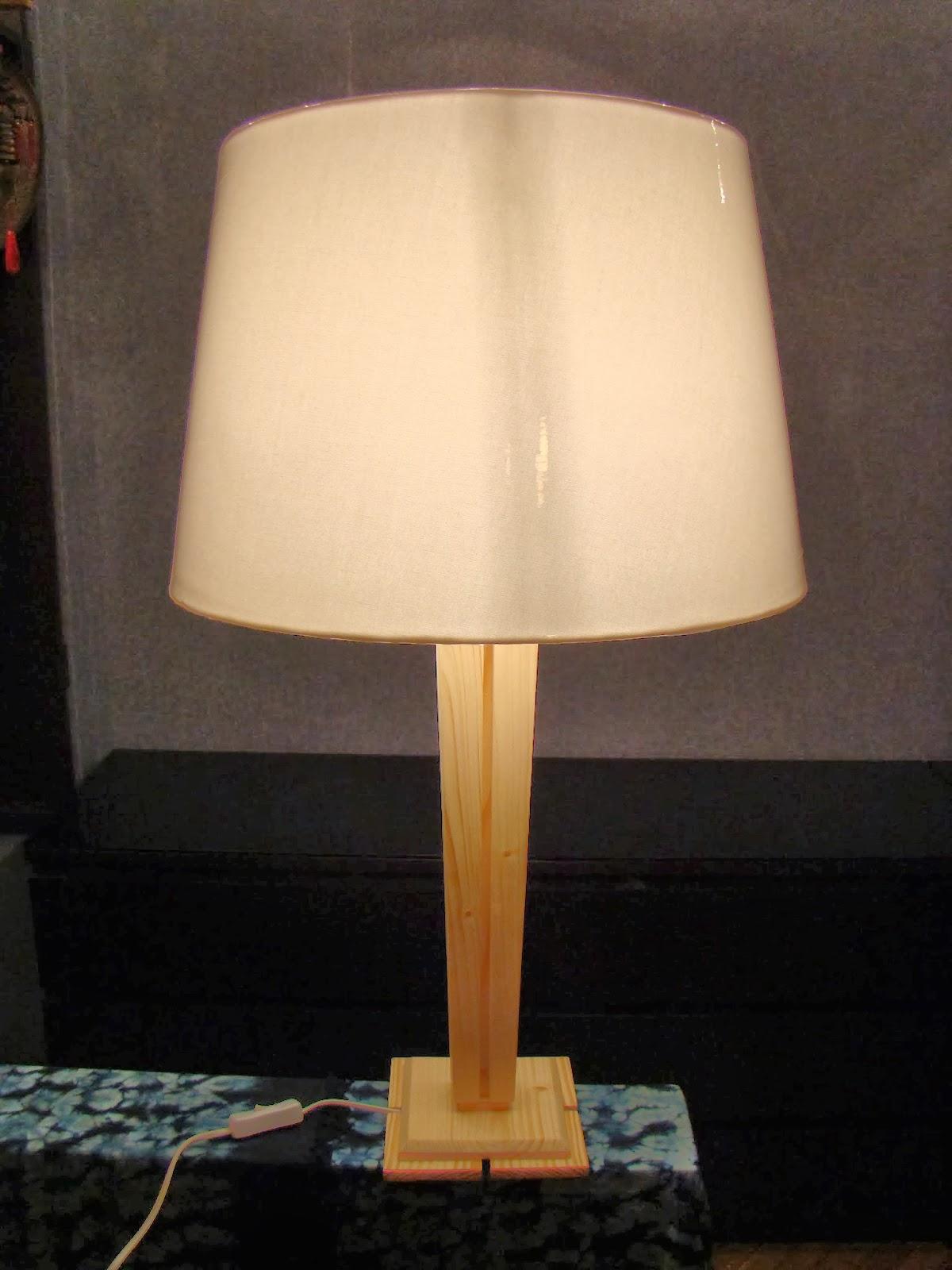 Настольная лампа на зажиме своими руками 30