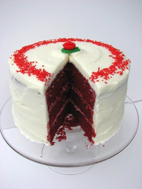 Heidi Bakes: Red Velvet Layer Cake from Food Network magazine