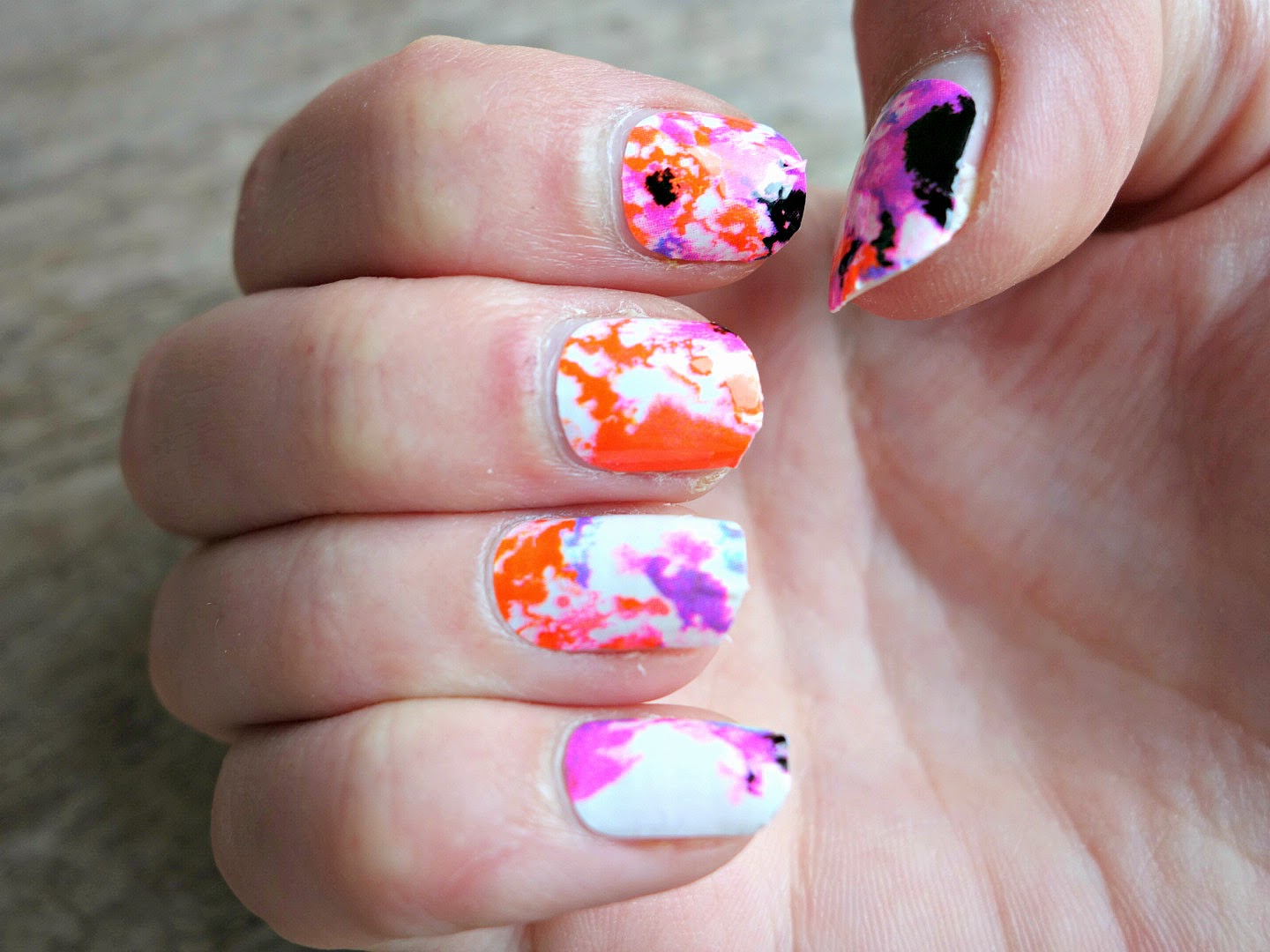 Nails Loral Color Riche Le Nail Art Nagel Stickers Mira Tells