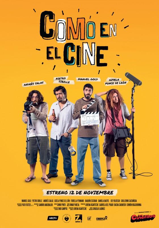 Afiche Como en el Cine