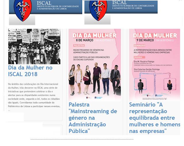 As iniciativas do Instituto Superior de Contabilidade e Administração de Lisboa - ISCAL | DIAS 8 e