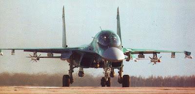 Серийный Су 34.