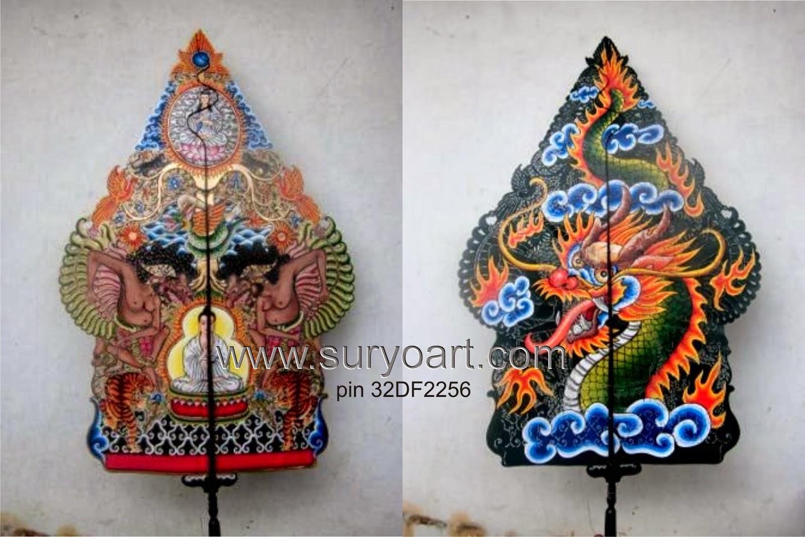 SURYOART Craft: Penjual Wayang Kulit Kwalitas Pentas ...