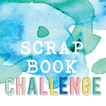SCRAPBOOK CHALLENGE ČERVEN 2018