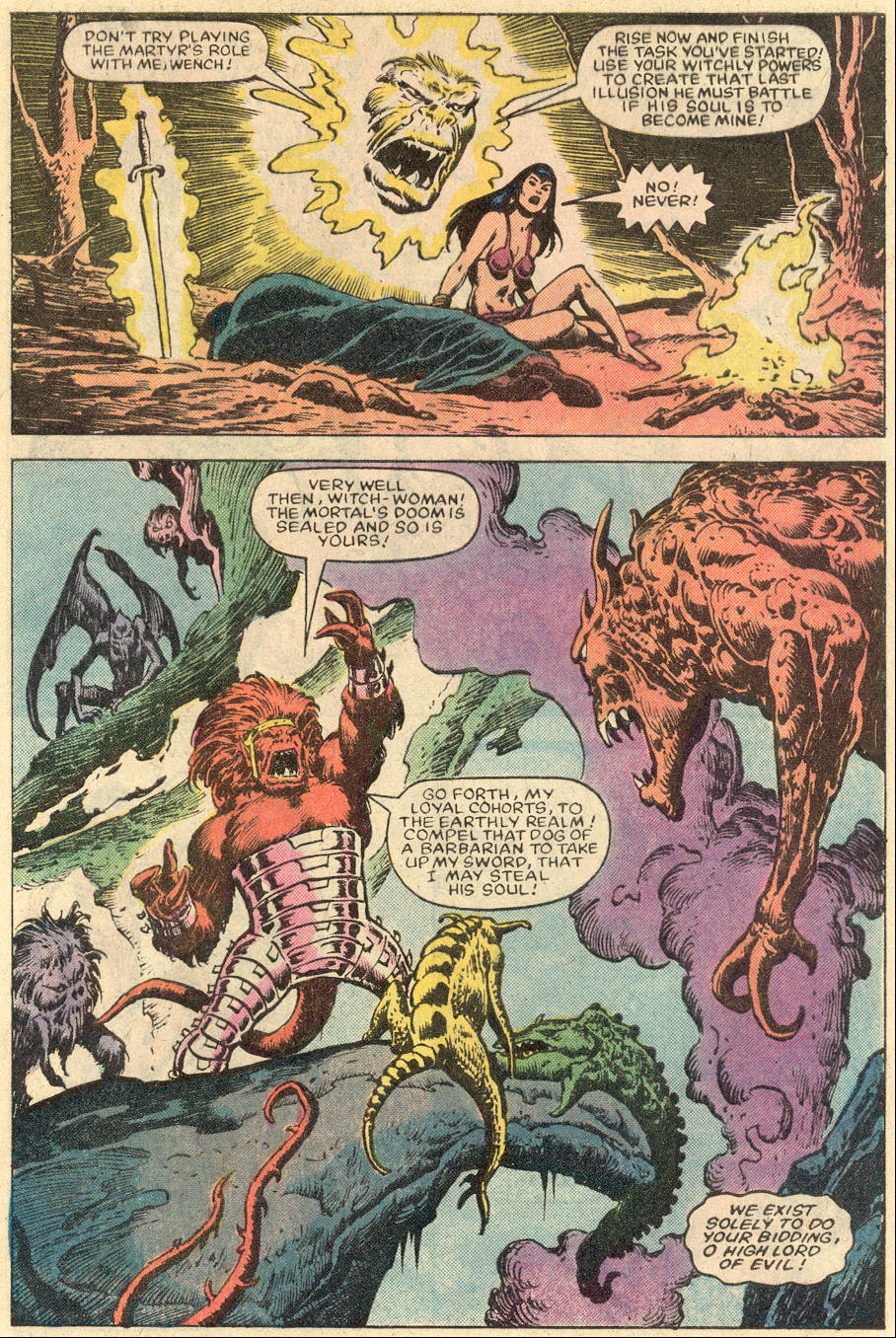 Conan the Barbarian (1970) Issue #152 #164 - English 18