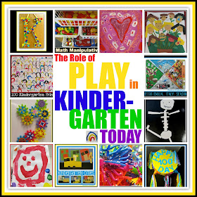 The Role of PLAY in Kindergarten Today: Insight from Professionals -- candid thoughts and concerns at RainbowsWithinReach