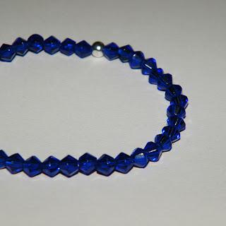 Bratara elastica albastra