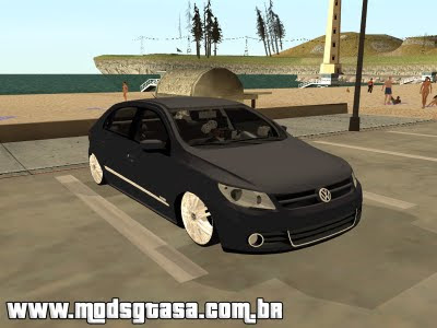 Vw Gol Trend 2009 Edit para GTA San Andreas